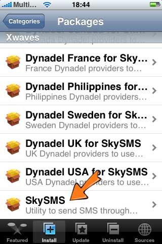 skysms gratis