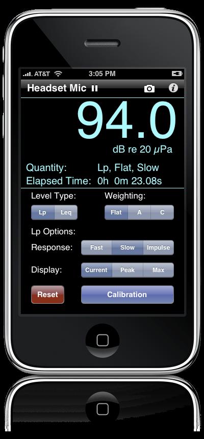 Decibel meter iphone