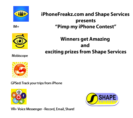 iPhoneFreakz.com presents Pimp my iPhone Contest