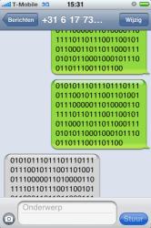 iphone hacken met sms
