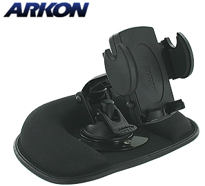 "Arkon Weighted ""Friction Style"" Dash Mount & Holder for iPhone 3GS"
