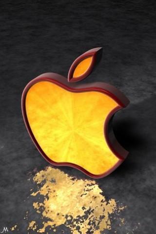 iphone wallpaper apple logo 2