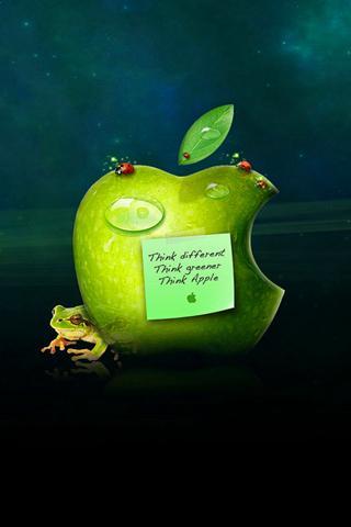 iphone wallpaper apple logo 7