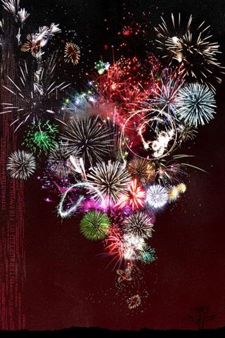 new year iphone background 16