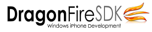 dragonfiresdk windows iphone development
