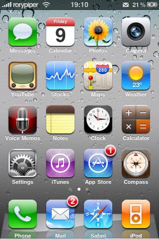 OS 4.0 theme