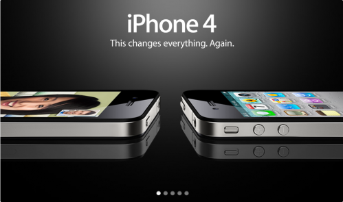 iPhone 4 Banner