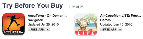 trybeforeyoubuy app store