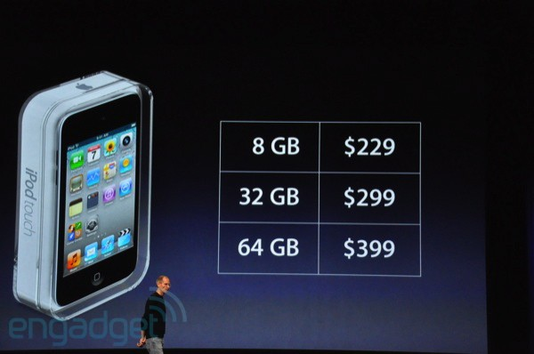 iPod Touch 4 prices