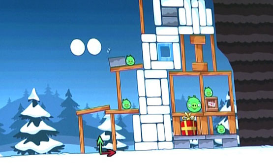 Angry Birds Christmas Edition