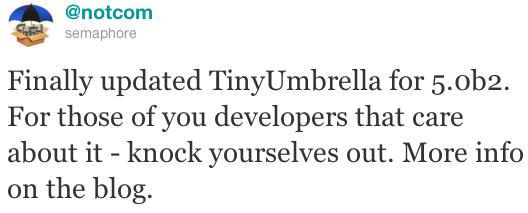 TinyUmbrella 5.0b2