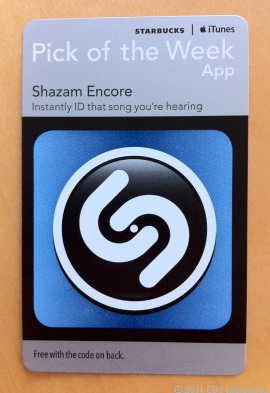 StarBucks Shazam