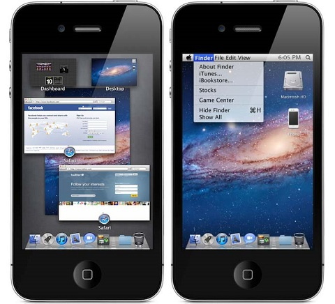 OS X Lion Ultimatum iOS Theme 1