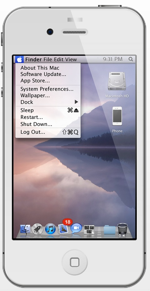 OS X Lion Ultimatum iOS Theme