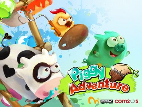Piggy Adventure iPhone 1