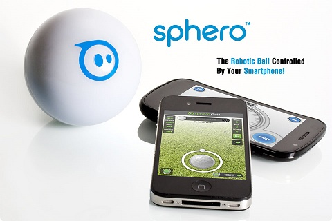 Sphero robotic ball remote iphone