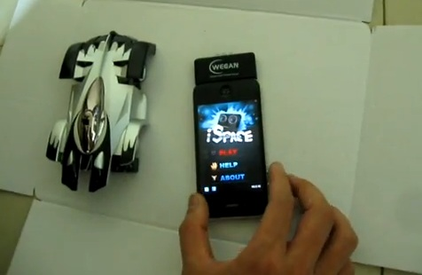 WECAN IW500 Wall Climbing Car For iPhone