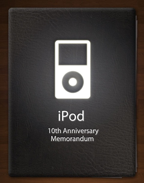 Infographic iPod 10th Anniversary Memorandum 1