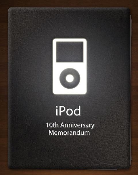 Infographic iPod 10th Anniversary Memorandum 1
