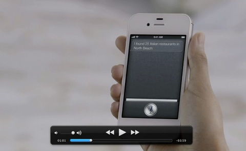 iPhone 4S video Apple