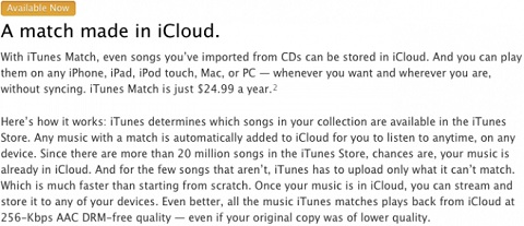 A Match Made In iCloud