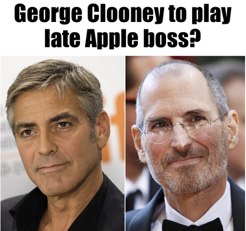 George Clooney Apple Steve Jobs