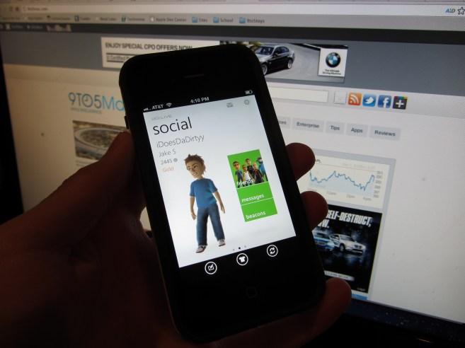 Xbox Live app iOS