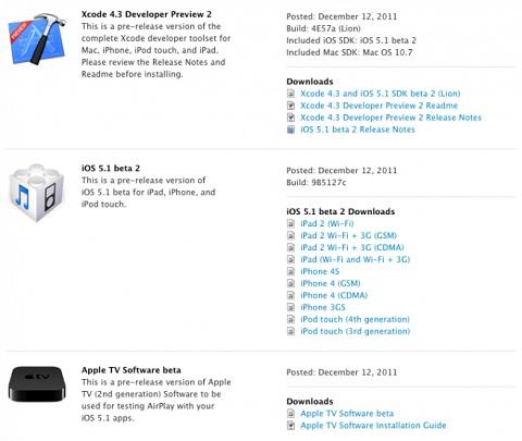 iOS 5.1 Beta 2
