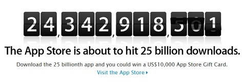 App Store 25 Billion Downloads