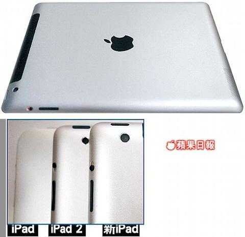 iPad 3 8 Megapixel Camera
