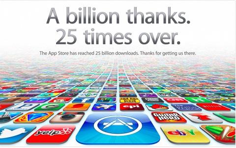 App Store 25 Billion