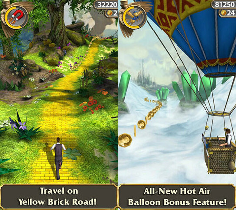 temple run oz a brand new endless runner inspired by temple run 2 and