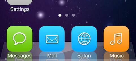 classicdock iOS 6 iOS 7