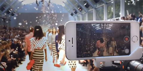 iPhone-5S-Video-Fashion-Show