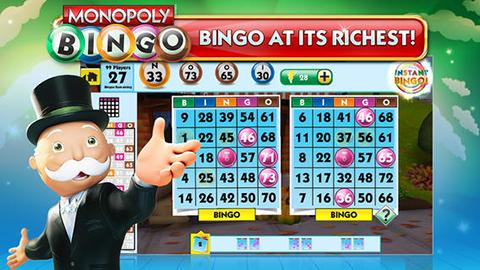 monopoly bingo ap